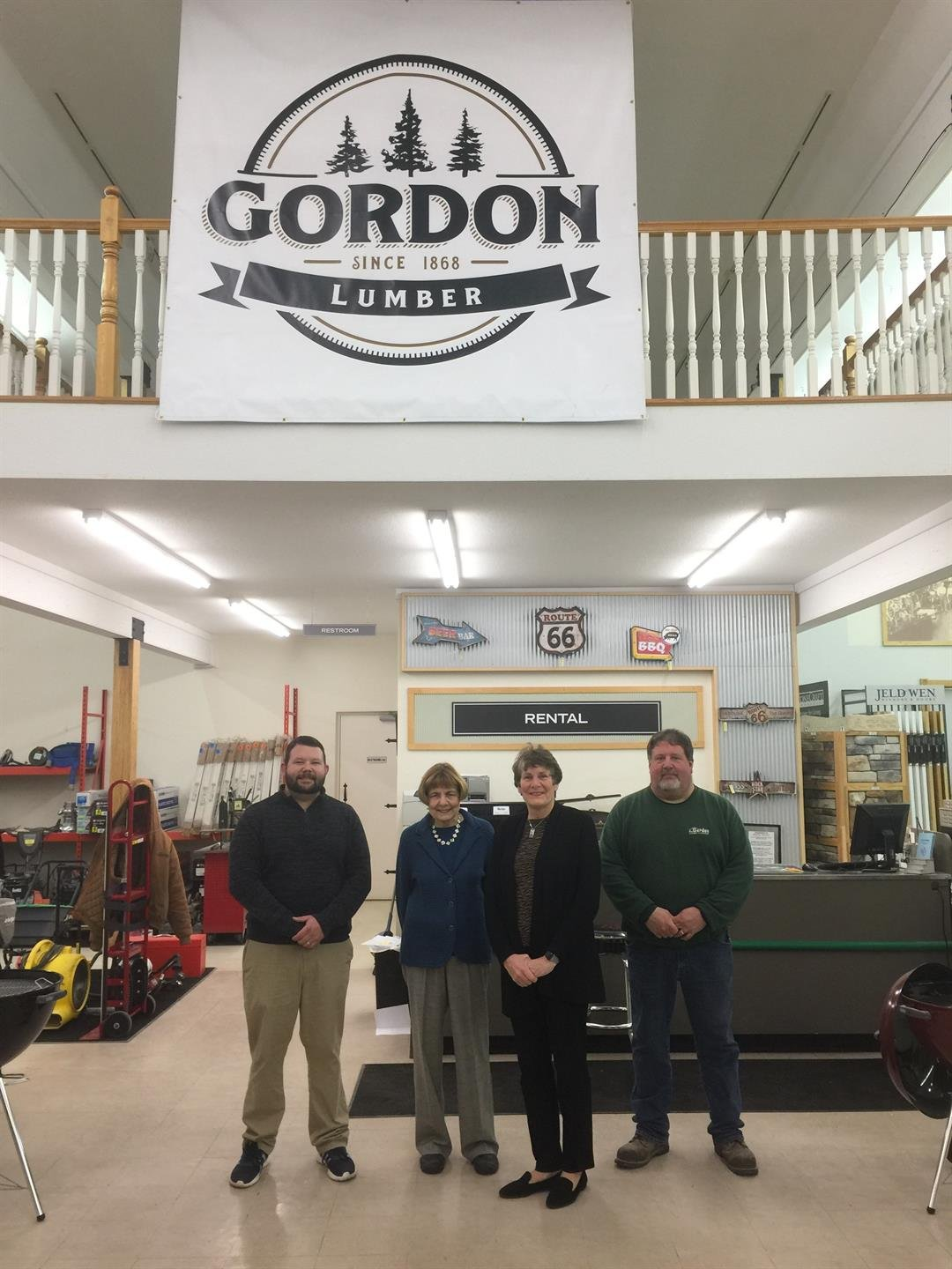 Great Great Granddaughters Of Gordon Lumber Founder Share Family
