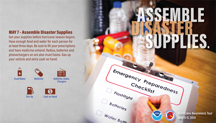 Build Disaster Supply Kits Ahead of 2019 Hurricane Season—Norwal