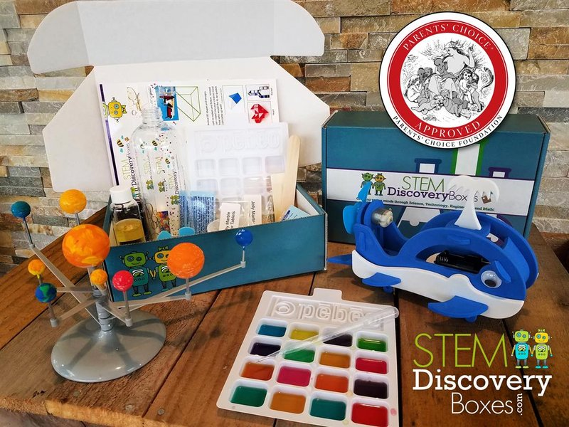Children's Educational STEM Subscription Box Wins International