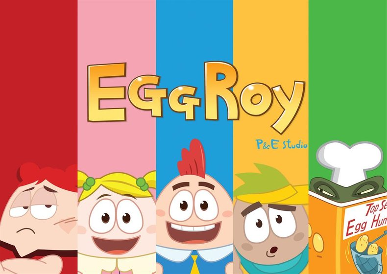 Korean Animation Creation Eggroy