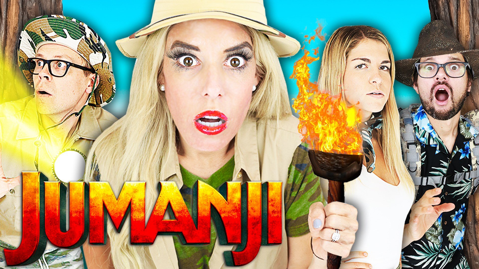 Rebecca Zamolo Plays Giant Jumanji Game In Real Life To Win The Fox 40 Wicz Tv News Sports Weather Contests More